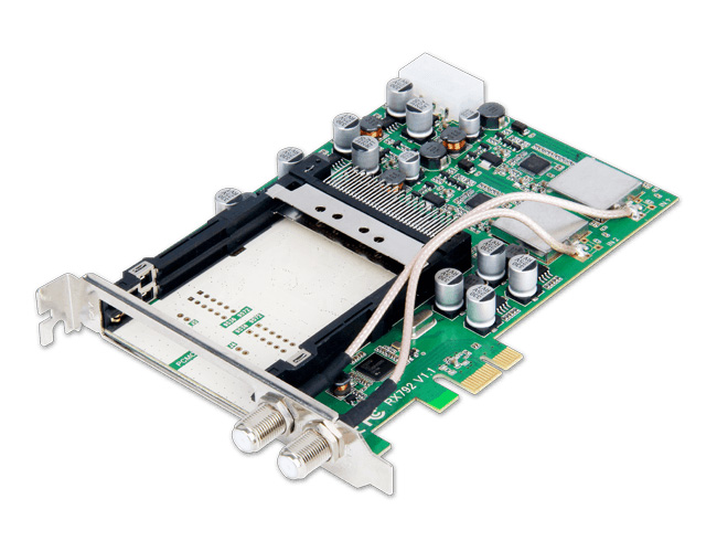 PCIe TV Tuner Card for Windows & Linux PC